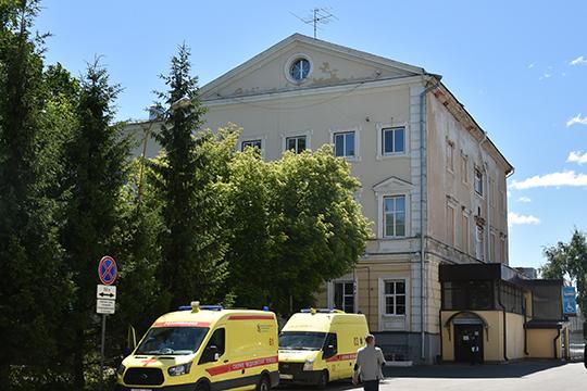 В здании хирургического стационаравсе сделано помировым стандартам, приведен впорядокиприемный покой.Следующим этапом станет ремонт фасада иблагоустройство прилегающей территории