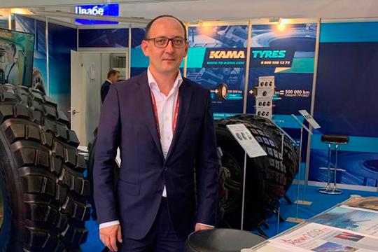 Марат Хафизов отметил, что изпредставленных настенде боестойких колес производятся все
