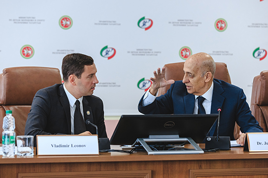 Большой друг Татарстана президент ФИНА Хулио Маглионе назвал российскую заявку великолепной