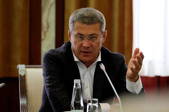 Радий Хабиров: «Не вести предвыборную кампанию я не могу, это будет безответственно по отношению к тем решениям, которые принимались в стране на уровне президента»