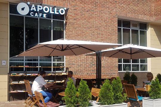 Apollo cafe: еда с7 утра ичай стыквой