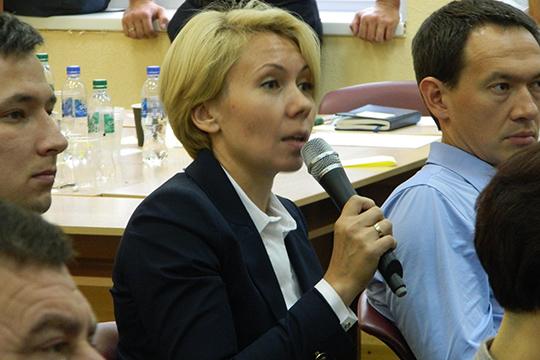Венера Камалова отметила, чтосейчас власть максимально открыта для общения сбизнесом