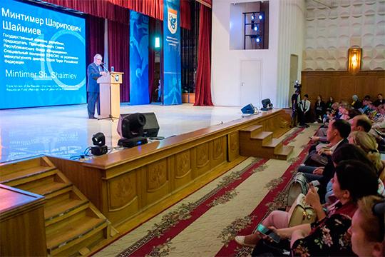 Минтимер Шаймиев: «Елабуга является пока еще не номинированным городом, где есть сочетание материального и нематериального наследия»