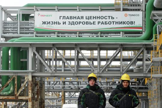 Cуммарный лимит по выбросам в Нижнекамском промышленном узле составляет около 60 тыс. тонн в год. «Танеко» из них выбрасывает 2,6 тыс. тонн, а НКНХ почти в 10 раз больше — 23 тыс. тонн