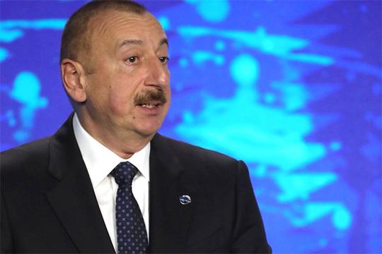 Ильхам Алиев: «Главным фактором, помогшим России с честью выйти из тяжелейших испытаний, является фактор Владимира Путина»