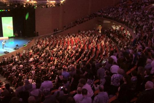 Татар жыры-2011 в московском Крокус Сити Холле собрал больше 6 тыс зрителей
