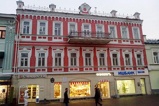 Памятник архитектуры Дом Каретникова (1888 года), расположен поулице Баумана, 66.«Звезда-Д» планировала вложить вреконструкцию здания сумму внесколько миллионов рублей идаже начало ремонтные работы...