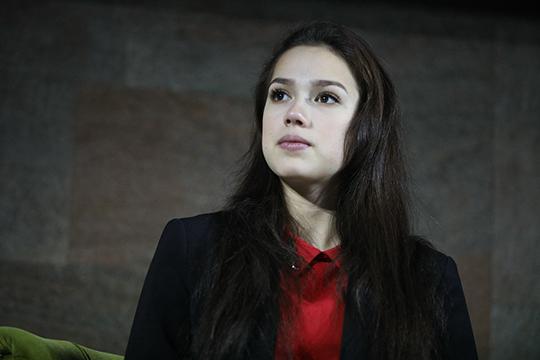 Еще одна героиня татар олимпийская чемпионка по фигурному катанию Алина Загитова была немногословной