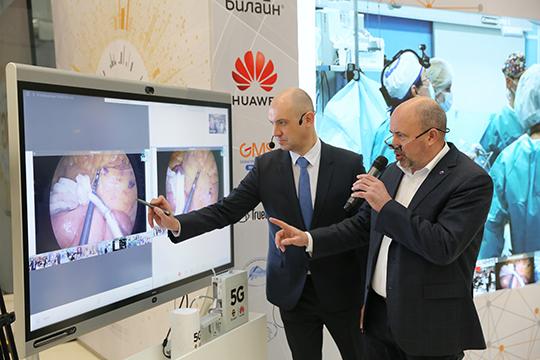 Будущее уже здесь: вРоссии провели первую операцию спомощью сети 5G «Билайн»
