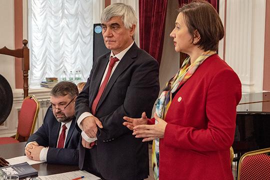 Сегодня состоялся юбилейный съезд Союза композиторов Татарстана, посвященный 80-летию организации. На должность председателя творческого союза был переизбран композитор Рашид Калимуллин