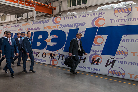 Сегодня вголовной компании группы «Инвэнт» Эльбека Сафаева было запущено конкурсное производство