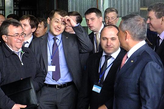 Сумеетли Руслан Шигабутдинов поменять что-то вТАИФе, развернуть компанию лицом кобществу инесдать поле федералам?
