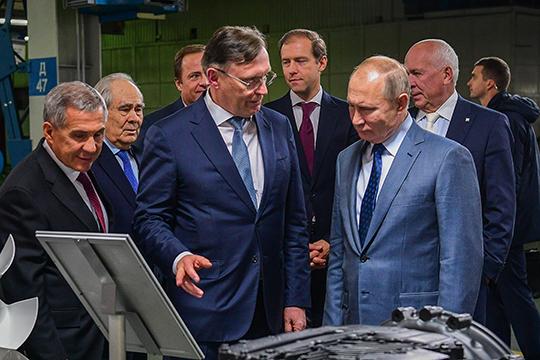 Большинству татарстанских «генералов» бизнеса тоже грех жаловаться на2019год. Все хорошо угендиректора КАМАЗаСергея Когогина— ондаже претендовал название персоны года