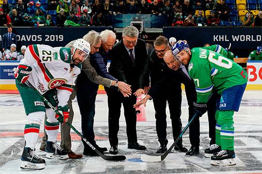«Салават Юлаев» обыграл «АкБарс» (4:3 ОТ) ивнынешнем сезоне сравнялся сказанцами попобедам в«зелёном дерби» (2-2)