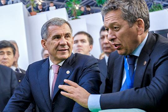У Минниханова и Маганова в рамках частной программы запланирована встреча с французской нефтегазовой компанией Total («Тоталь»), занимающей 4-е место в мире по объему добычи