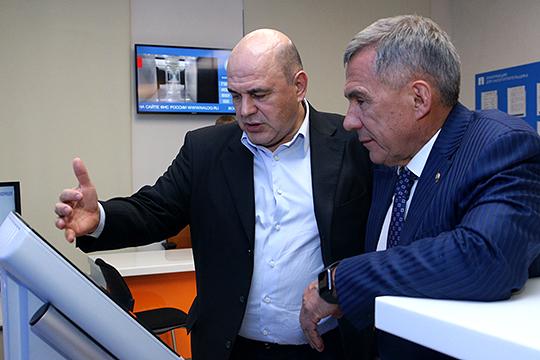 «Они очень хорошо сошлись»: казанский Кремль отом, что сблизило Минниханова иМишустина
