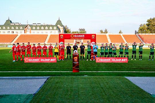 Команда провела первую часть сезона в Казани на стадионе «Рубин» в Соцгороде — домашний стадион в Нижнекамске проходит реконструкцию