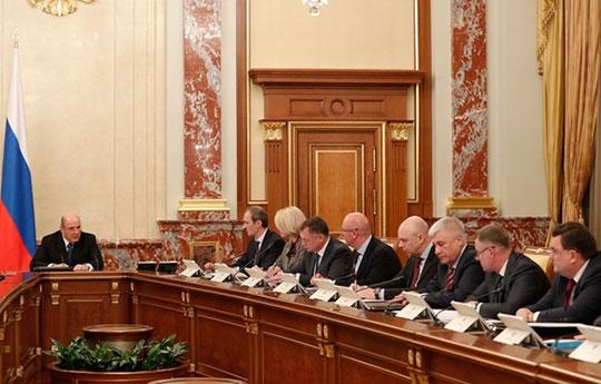 На прошлой неделе Михаил Мишустин дал окончательное распределение ролей для своих вице-премьеров