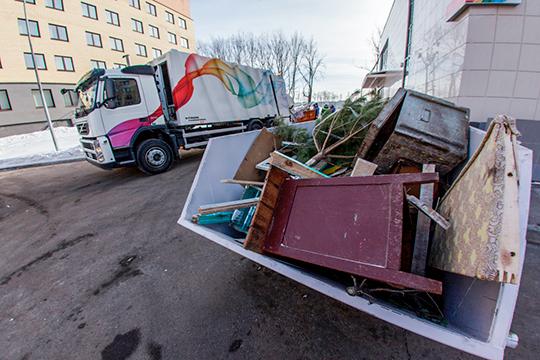 В Татарстане на 20% вырастет платеж за вывоз твердых коммунальных отходов (ТКО) для населения