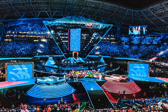 Летом на «Казань Арене» проходили церемонии открытия и закрытия чемпионата мира по рабочим профессиям WorldSkills. Шоу на год лишило «Рубина» возможности играть на стадионе