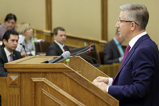 Абдулганиев публично поспорил с министром финансов РТ Радиком Гайзатуллиным по поводу налоговых каникул для предпринимателей