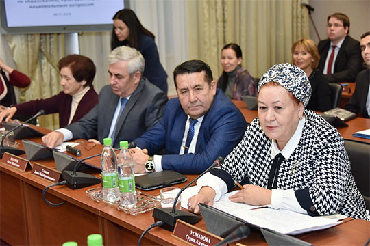 Отимени жителей села также спросьбой сохранить музей вдеревне, выступила правозащитникСурия Усманова, поскольку сама является уроженкой этих мест