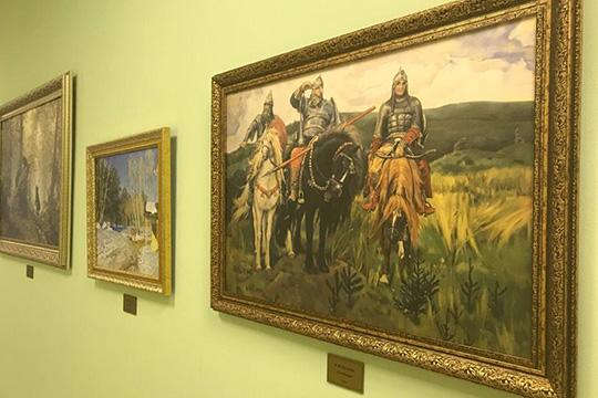 Пословам Сорошкиной, особенностью детсада является картинная галерея, расположившаяся вхолле