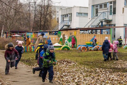 Детский сад№51был открыл в1976 году, сейчас его посещают 303 ребенка