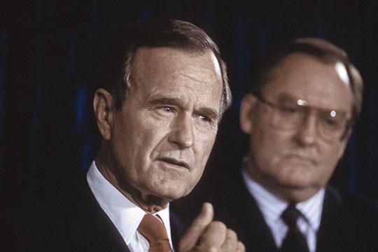 «Именно Буш-старший был одним изорганизаторов этой большой (или как они иначе говорят— великой) ловушки для СССР вАфганистане»