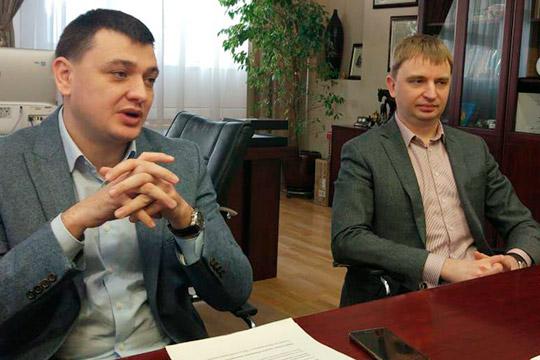 Олег Бачурин иЭдуард Ислямов