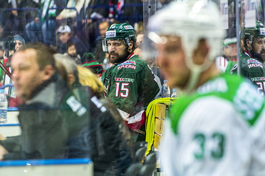 Сегодня в Уфе состоится четвёртый в сезоне матч между «Салаватом Юлаевым» и «Ак Барсом»