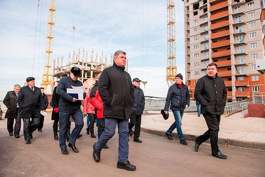 Гектары в обмен на метры: челнинских дольщиков «Фона» спасут Мингалимов и Гайсин