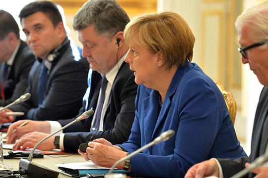 «Меркель уже давно поняла цену Порошенко иочень плохо кнему относится»