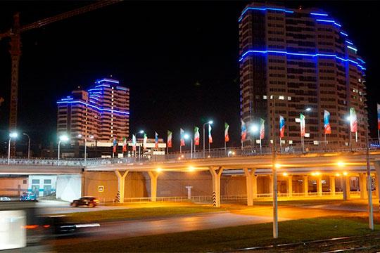 Для реанимации вечерней и ночной жизни в Челнах необходимо создание комфортной световой среды, в том числе за счет художественной подсветки зданий, сооружений и зеленых насаждений