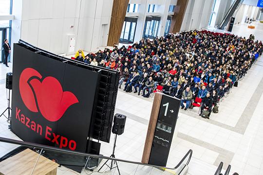 «Казань Экспо» будут использовать как площадку для семинаров ФИНА