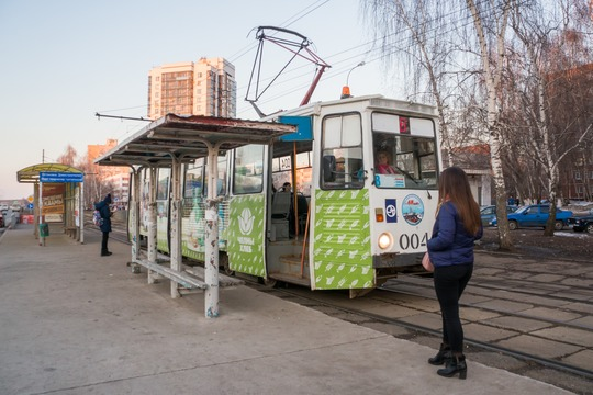 «Да, трамваи нестоят впробках, вэтом ихплюс. Но, помоим подсчетам, пассажиры сегодня по-прежнему предпочитают микроавтобусы»