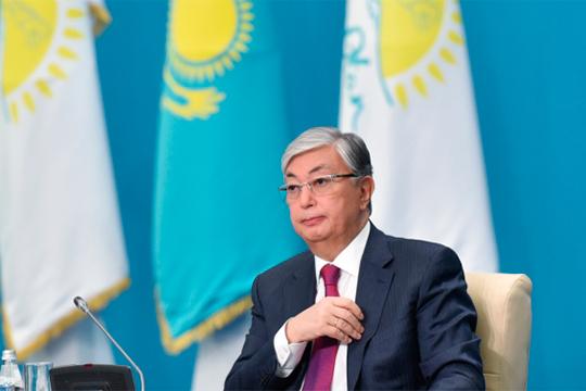 ВКазахстане впервые вкачестве президента кнароду обратился спосланиемКасым-Жомарт Токаев