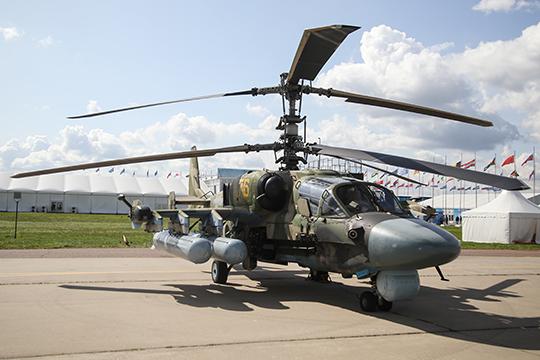 «У нас есть и более крупная война — между Ми-35М и Ми-28 с одной стороны и Ка-52 (на фото) с другой»