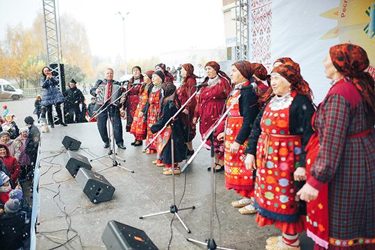 «В 2017 году хедлайнерами фестиваля стали музыкальный фольклорный коллектив «Бабуши из Бураново»
