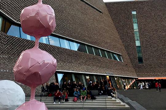 В2019 году Tate Modern стал самым посещаемым музеем Великобритании