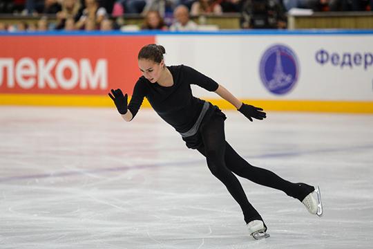 Этап Гран-при в Гренобле стал первым официальным турниром для Алины Загитовой в новом сезоне