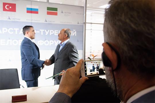 Эрикан напомнил, что четверть всех турецких инвестиций в России приходится на нашу республику