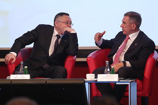 Сегодня у Ирека Файзуллина запланирована встреча с Рустамом Миннихановым,где они обсудят потенциальных кандидатов напост главы республиканского минстроя