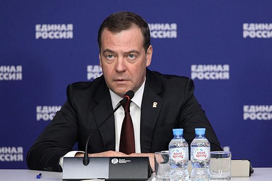 Медведев сразу дал понять, что списывать его со счетов рановато, и почти все присутствовавшие слушали его сосредоточенно-напряженно