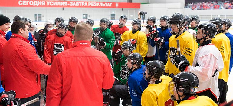 ВАльметьевске открыли Центрхоккейной подготовки «Нефтяник»