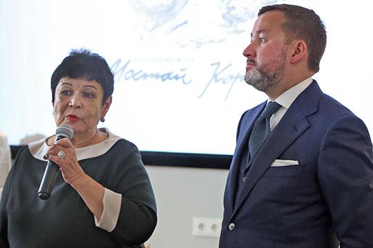 В БашГУприехали внук поэта Тимербулат Каримов и дочь классикаАльфия Каримова