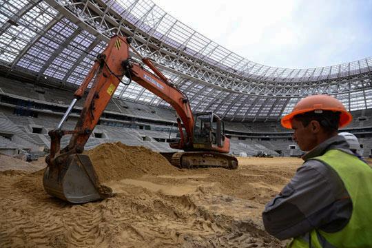 Печально знаменитой встолице «Инвэнт» стала в2016 году, вовремя реконструкции стадиона Лужники кЧМ-2018