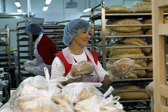 Укаждого предприятия свой объем социальных хлебов