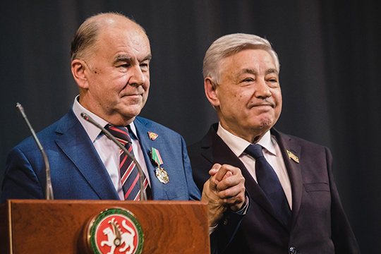 Шамиль Агеев и Фарид Мухаметшин