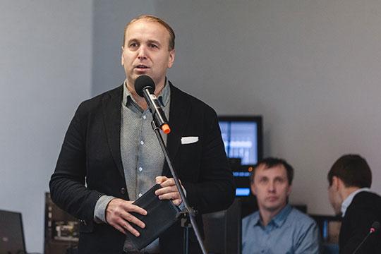 Модератором выступил популярный спортивный комментаторДенис Казанский